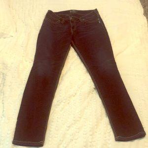 Silver Suki Dark Denim Skinny Jeans